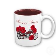 biker mugs for ladies
