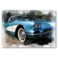 Corvette Wall Posters