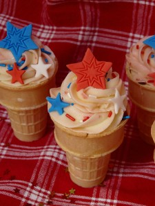 Cupcakes in a Cone