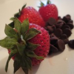 Chocolate Strawberry Smoothie Ingredients