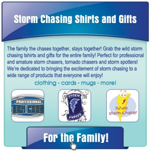 Storm Chaser T-shirts and Gifts