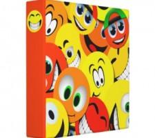 Smiley Face Binders for School