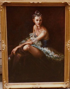 Inspired by Hanya's memories of ballet.