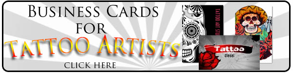 Tattoo Business Cards | WebNuggetz.com