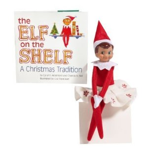 The Elf on the Shelf: A Christmas Tradition (With Blue-eyed Girl Elf ...