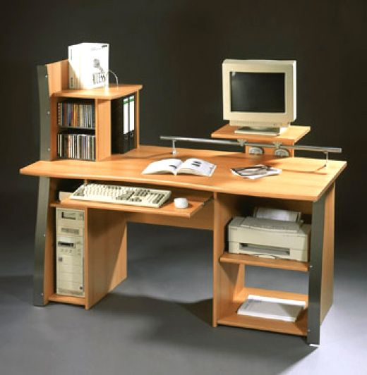 types of home computer desks