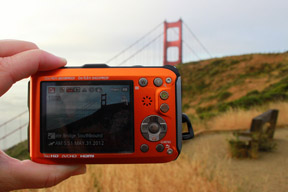 travel cameras with geotagging
