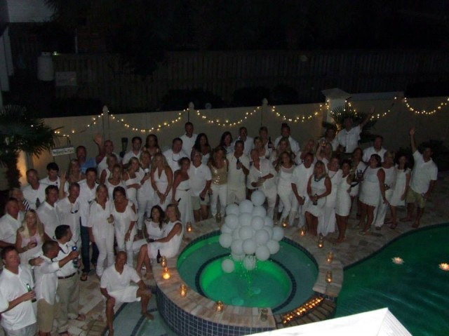 All white party decorations for Images of all white party decorations