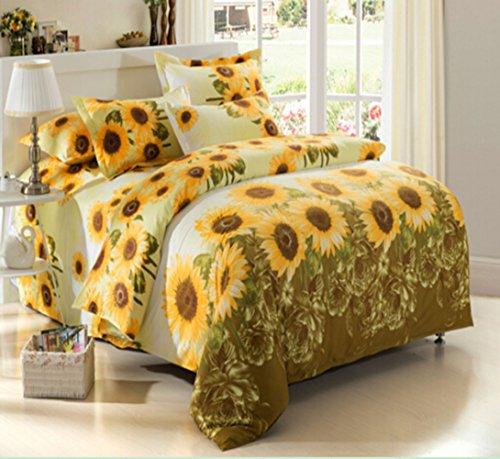 Sunflower bedding for Sunflower bedroom decor