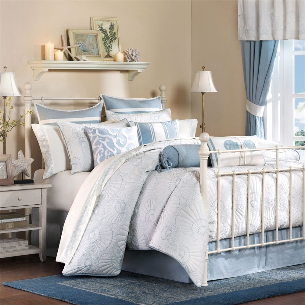 coastal bedding sets. Black Bedroom Furniture Sets. Home Design Ideas