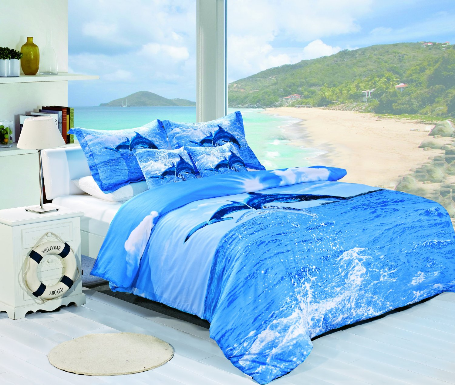 Matrimonio Bed Ocean : Ocean bedding for a touch of the sea in your bedroom