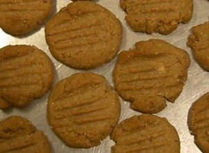 Sugar Free, No Flour Peanut Butter Cookies