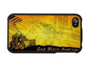 4th of July iPhone Cases and Skins