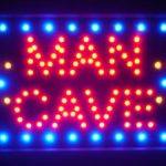 Neon Man Cave Signs