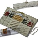 Artist Paint Brushes for Painting on Oil, Acrylic & Watercolor