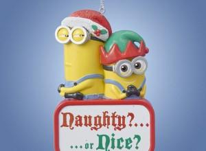 Minions Christmas Ornaments