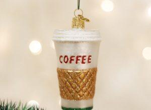 Coffee Christmas Ornaments