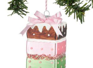 Cake Christmas Ornaments