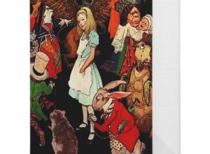 Alice in Wonderland Binders
