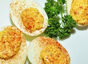 Halloween Deviled Eggs Recipe