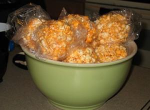 Halloween Popcorn Pumpkins Recipe