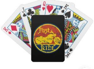 Motorcycles Playing Cards for Bikers