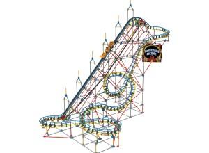 K'NEX Model Sets - Roller Coasters and Ferris Wheels