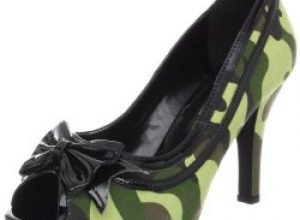 Camo High Heel Shoes and Boots for Women