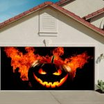 Halloween Garage Door Decorations