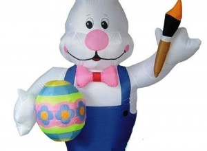 Outdoor Inflatable Easter Decorations