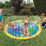 Kids & Toddlers Love Sprinkle Pools & Mats
