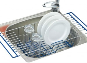 Over The Sink Dish Drainer Rack