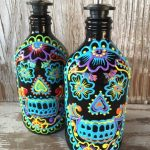 Sugar Skull Bathroom Decor