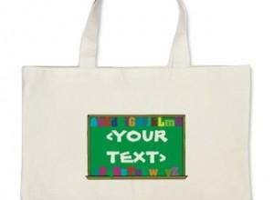 Teacher Tote Bags for School