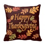 Thanksgiving Throw Pillows