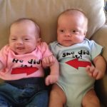 Boy Girl Twin Grandchildren