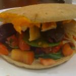 My Original Sandwich: New Chicken Florentine