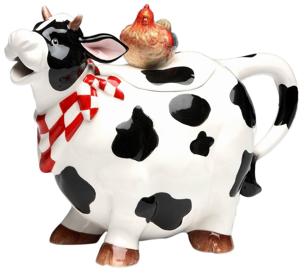 Cute Cows In The Kitchen