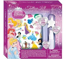 disney princess tattoo kit