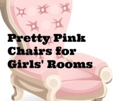 pretty pink chair
